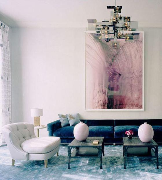 Blue Interior Design: 25+ Best Ideas About Navy Sofa On Pinterest