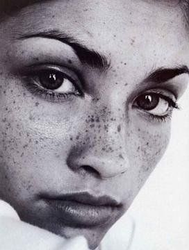 blacks with freckles | ... post some pictures of the gorgeous models with freckles that i admire