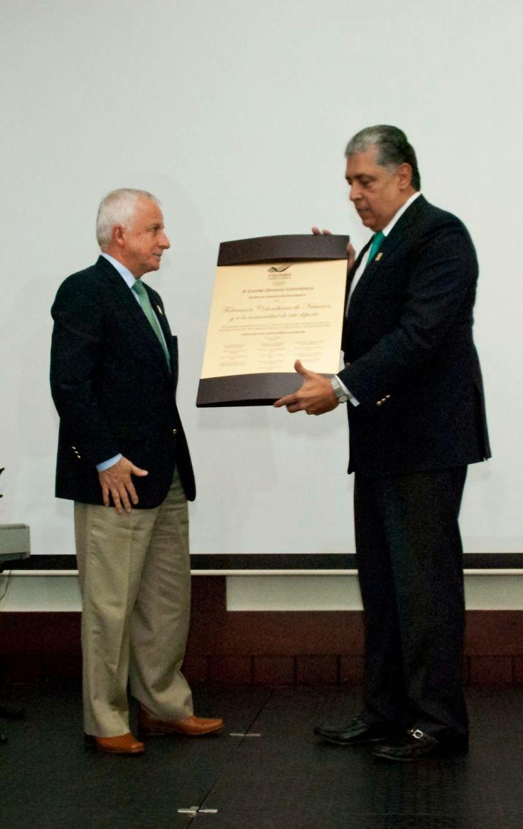 Diario Vallevirtual: Federación Colombiana de Natación celebra 75 años