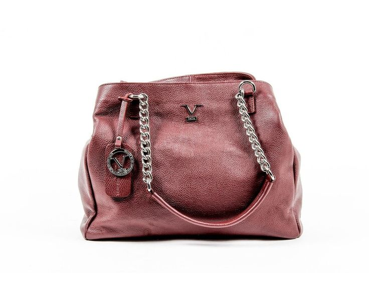 Versace 19.69 Abbigliamento Sportivo Srl Milano Italia Womens Handbag V012 S BORDEAUX