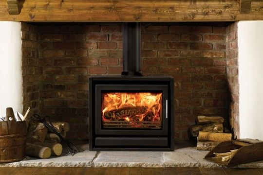 Gorgeous stove that will blend into both a traditional or modern room | Manor House Fireplaces #stovax #stove #style