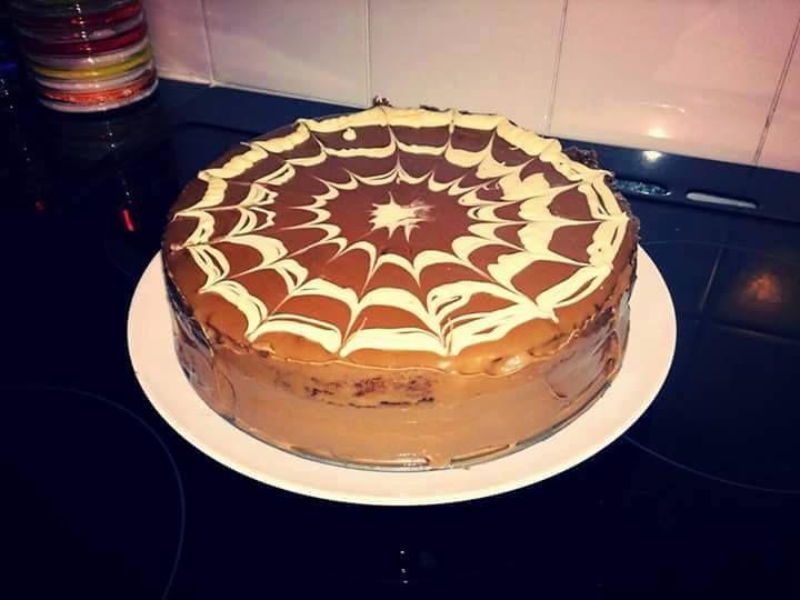Jednoduchá MILKA torta