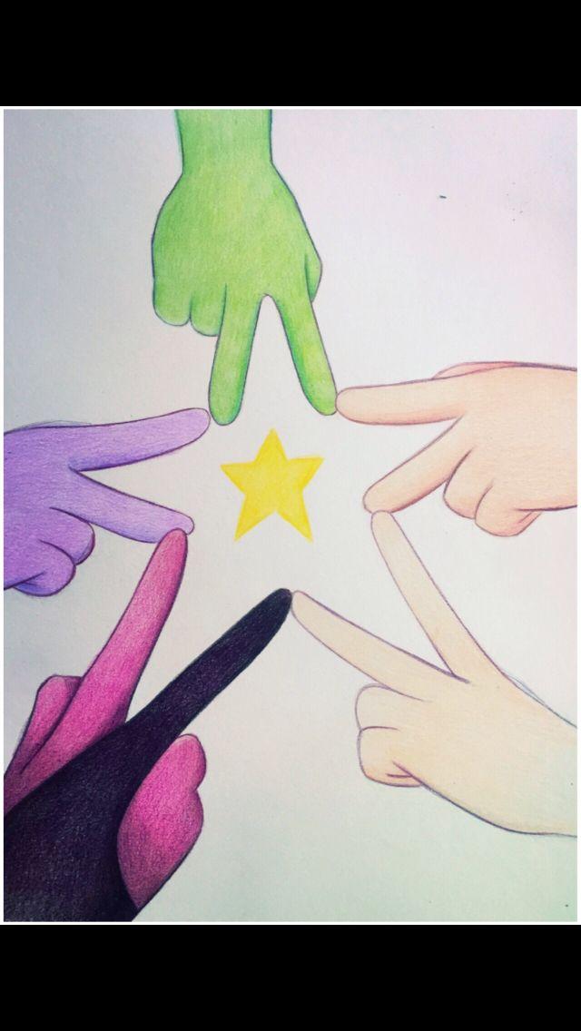 We Are The Crystal Gems! Peridot, Garnet, Amethyst, Pearl, and Steven Precious Gem