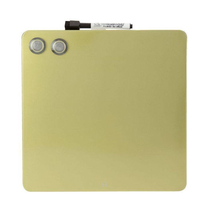 Quartet Cubes Magnetic Green Board 290x290mm   Officeworks