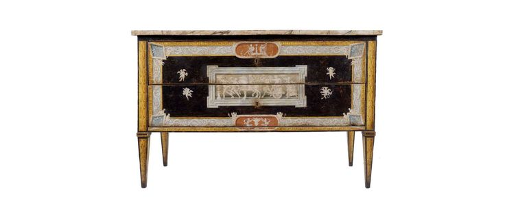 #MarchAuction26 Preview An important Central Italian Louis XVI commode 18th century