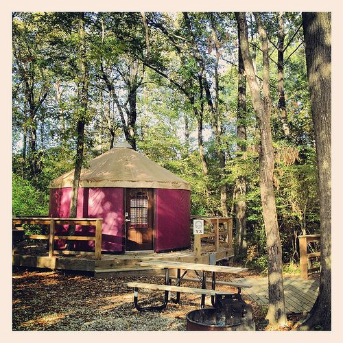 Catherine's Landing Camping Resort Hot Springs Arkansas RV Center Cottages Yurts Dock Glamping @Go Glamping Hub