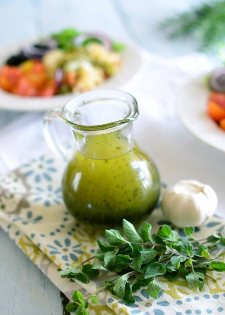 Make your own Italian herb dressing to give your antipasto a homemade taste! #italiano