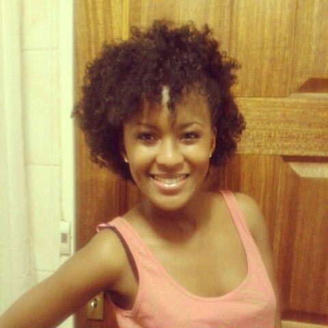 Side pin up on natural hair  Mummy Mthembu - Fawkes