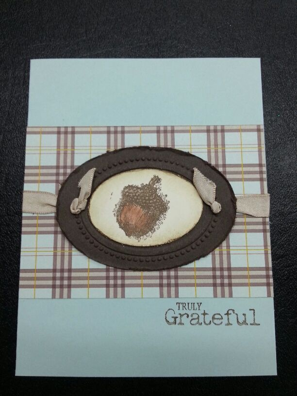 Truly grateful my stampin up creations pinterest
