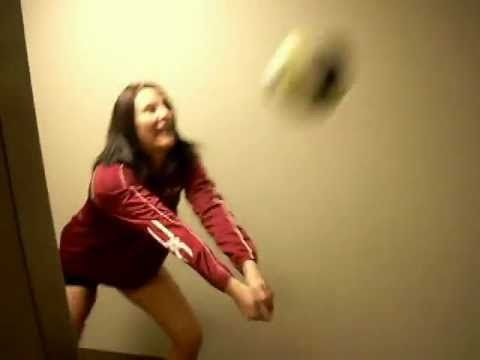 Hilarious Volleyball Fail - YouTube