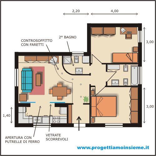 Oltre 25 fantastiche idee su piantine di case su pinterest for Arredamento architettura interni