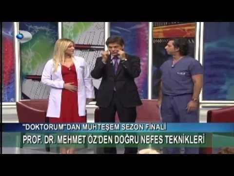 Mehmet Öz'den doğru nefes alma teknikleri - YouTube