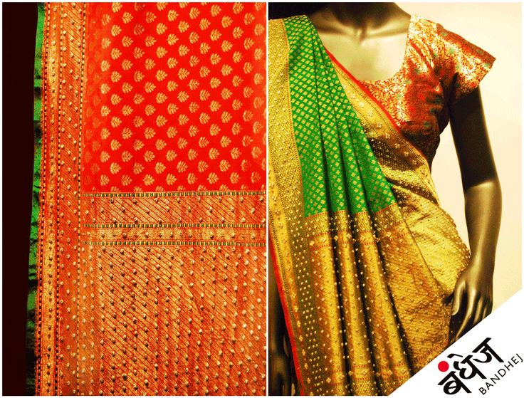Traditional Cotton Sarees online from bandhej across India. From bandhej get Indian bandhani saree online variety of cotton and silk sarees are available. http://www.bandhej.com/sarees