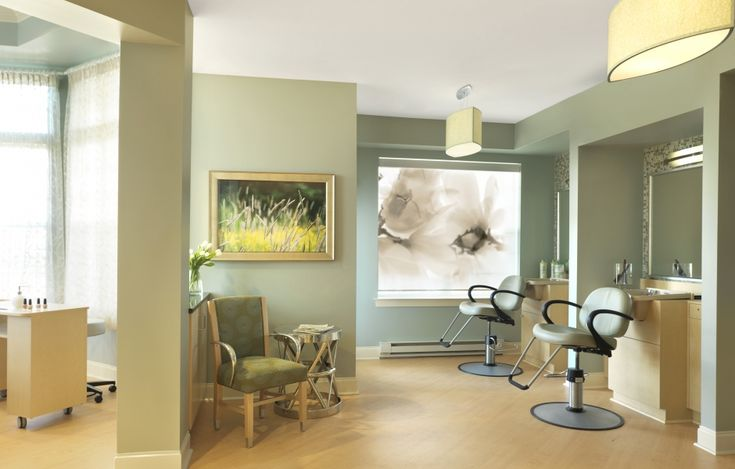 Salon - Nice Artwork And Soothing Color Palette
