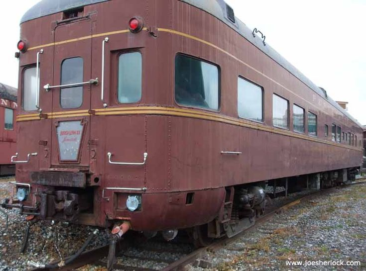 'Mountain View' was the observation car used on the PRR Broadway Limited. It was built in 1948 by Pullman. The Broadway Limited was inaugurated in 1912 and outlasted the Pennsylvania Railroad, operating under Amtrak until 1995.