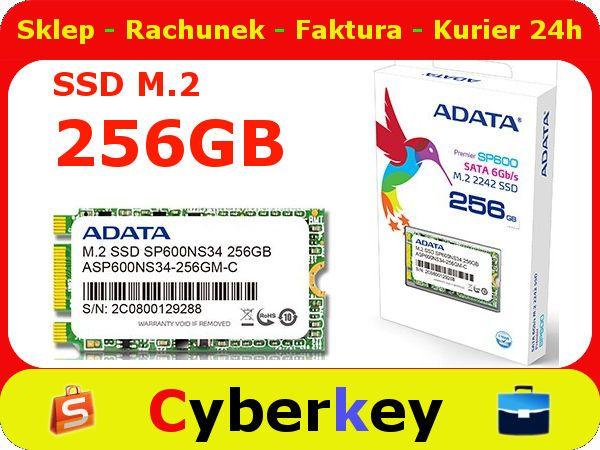 SSD Premier SP600 M.2 2242 256GB SATA3 4cm ADATA
