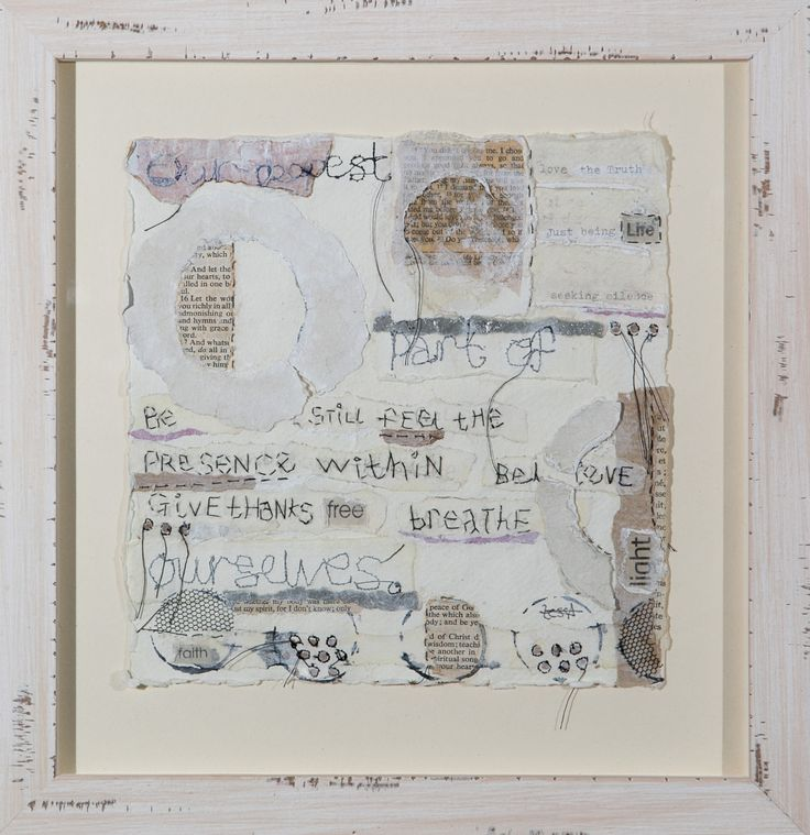 Our Deepest Part of Ourselves Mixed Media On Paper Tess Ainley