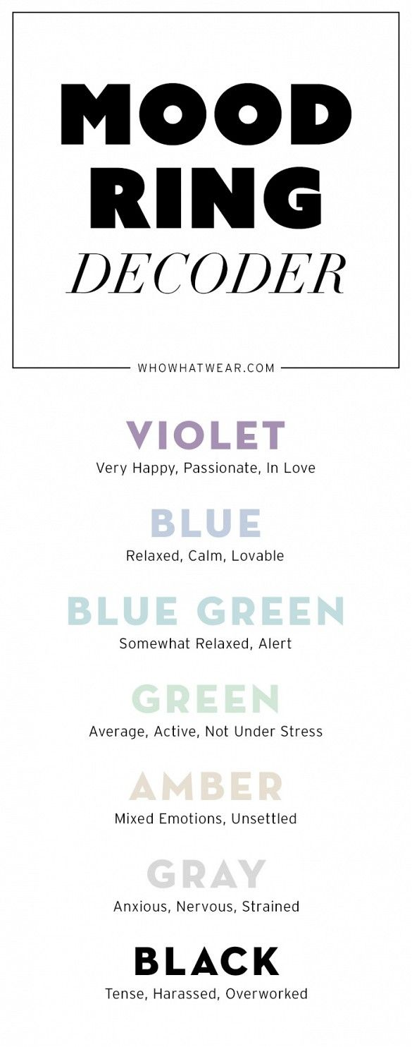 Get your real mood ring reading with this decoder!