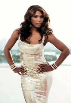 SERENA WILLIAMS  |   evening wear beauty and style                                                                                                                                                                                 More