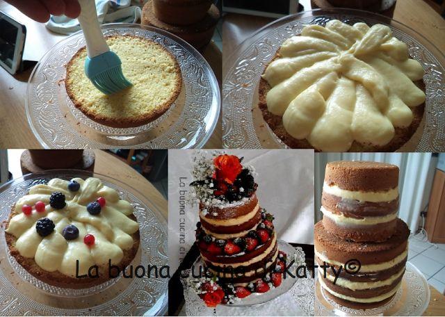 La buona cucina di Katty: Torta Rosa di Bosco per il compleanno della mia mamma - Cake Rose Bosco for the birthday of my mother