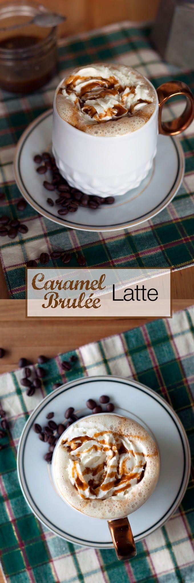 starbucks caramel brulee latte recipe