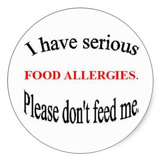 Food Allergy Stickers | Zazzle.comKara Waltz