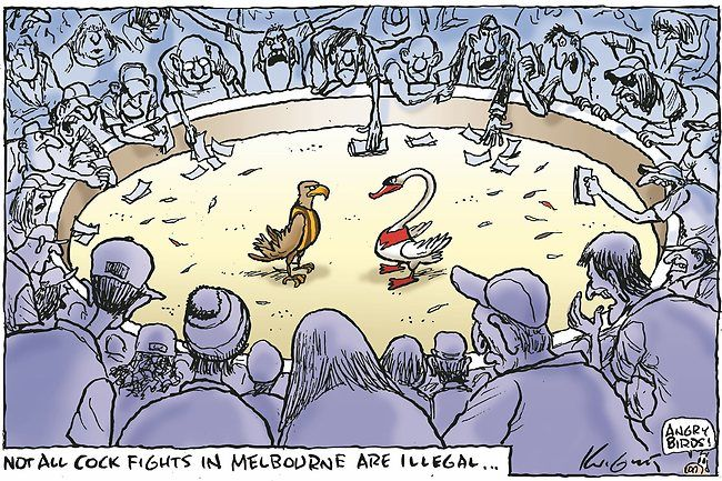 Knight cartoon | Mark Knight 2012 - 28 September | Herald Sun