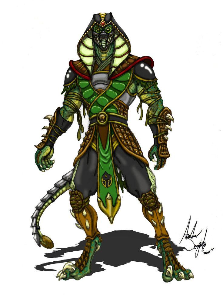 45 mejores imgenes de Reptile Mortal Kombat en Pinterest