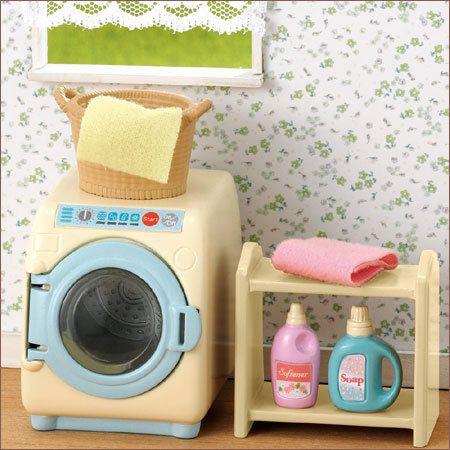 JP Sylvanian Families Washing Machine Set Ka 624 | eBay