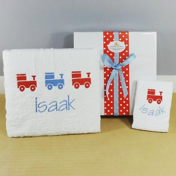 This Gorgeous Personalised Bath Towel Set Matches Our Range Of