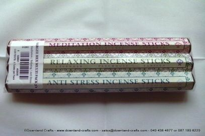 Meditation, Relaxing and Anti Stress Multi-Pack Incense Sticks
