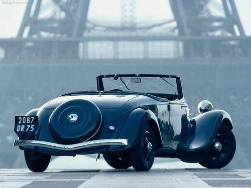 Citroën Traction Avant 11 Cabriolet 1937 à 1939