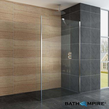 walk in shower kit 900mm shower screen bathempire