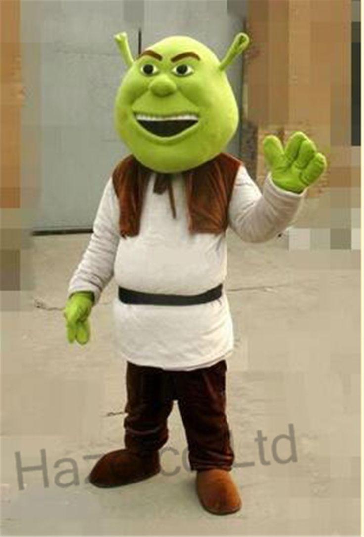 196.99$  Watch here - http://alij9p.worldwells.pw/go.php?t=32732833549 - Adult Cartoon Mascot Costume Shrek 196.99$