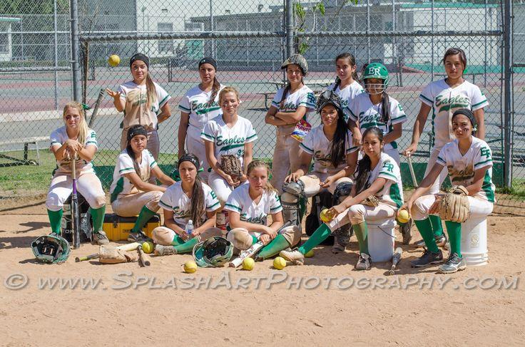 Eagle Rock High School Softball 2013 Team Photo Team