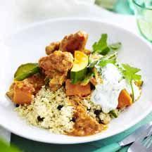 African chicken curry