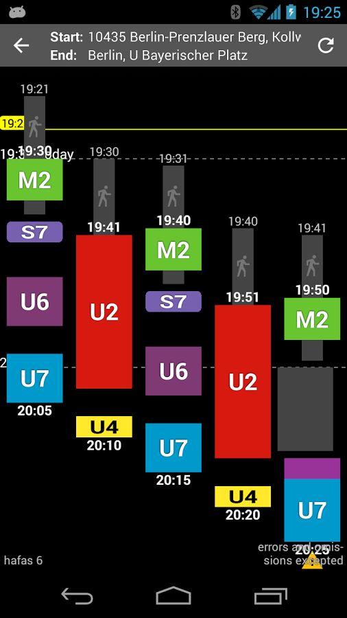 Öffi - Fahrplanauskunft – Screenshot