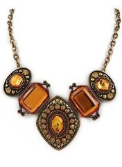 Amber Jewel Necklace