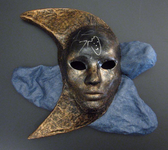 86 best images about alice masks on pinterest papier for Cool paper mache