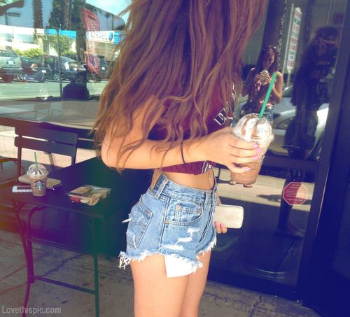 How to catch a white girl- buy starbucks, bribe her with the starbucks and high waisted shorts. You win.
