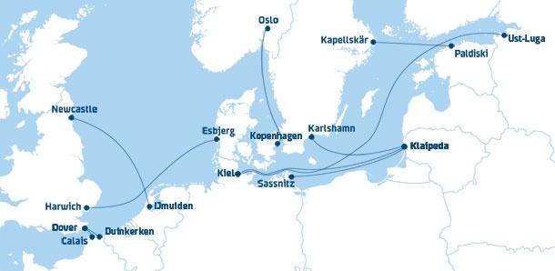 Ferry's naar Engeland en Scandinavië!! heerlijke bootvakanties!