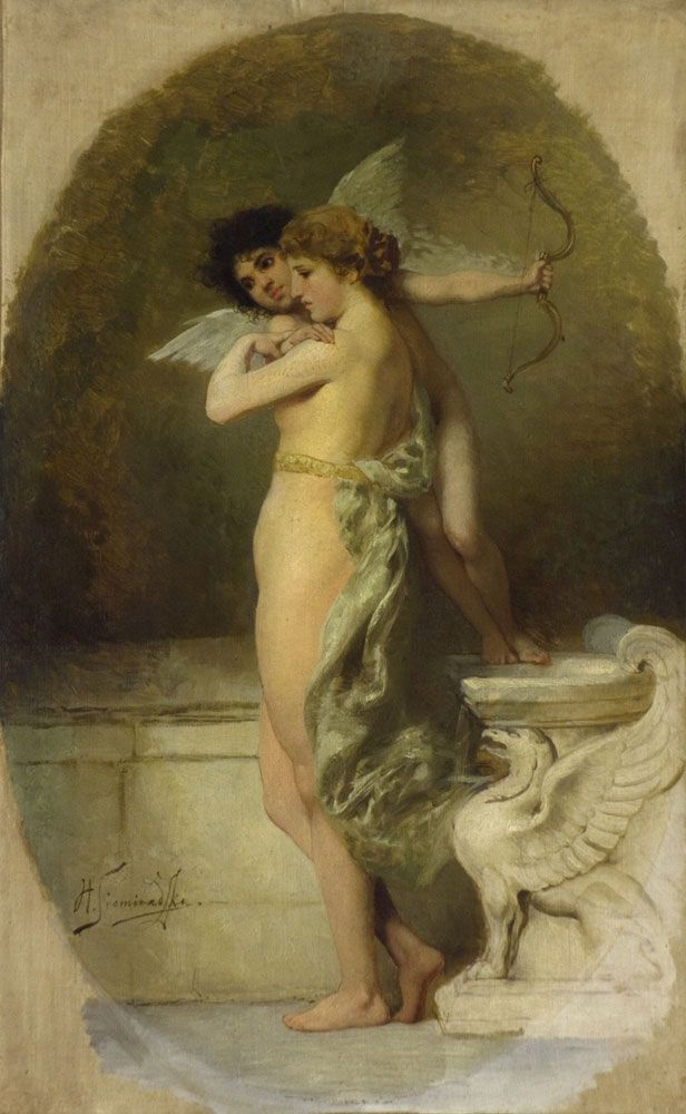 Henryk Siemiradzki, Amor i Psyche