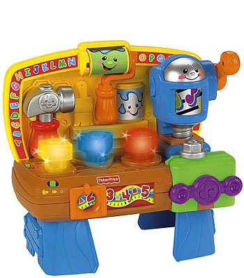 Fisher price laugh learn learning workbench workbenches learning and toys r us Fisher price tool bench