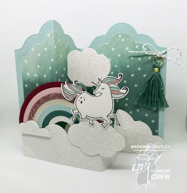 Colour INKspiration #24, Magical Day, Rainbow Builder Framelits, Labels Z-Fold, addinktive designs