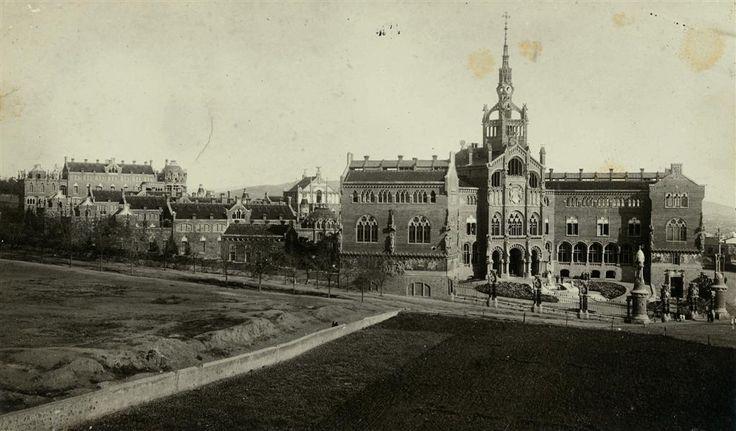 Hospital de San Pablo - Autor: Frederic Ballell. 1912, Archivo Fotográfico de Barcelona.