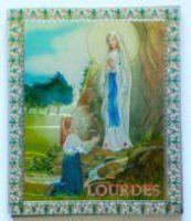 Lourdes Apparition Magnet.