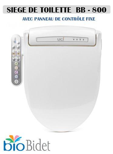 Abattant wc japonais lavant BB800 Bio Bidet - technoconseilbaindouche.com