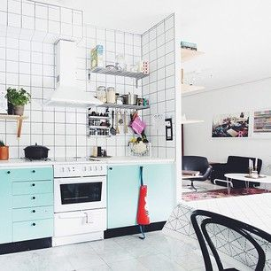 city living apartment kitchen