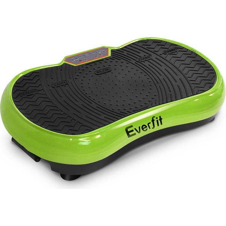 Everfit Exercise Vibration Machine in Green 1000W | Buy Small Exercise Equipment