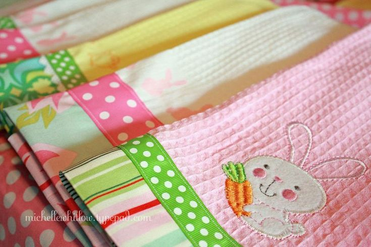 more Easter towel makeovers from Target dollar spot towels!